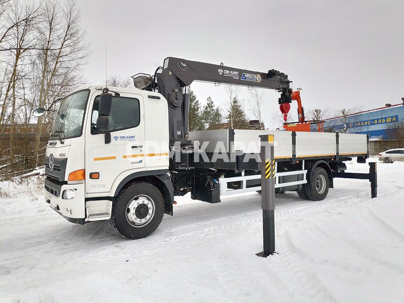 HINO 500 GH8JS7A-PHR c КМУ Horyong HRS216
